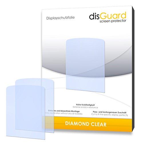 disGuard–Display Schutz Folie für Philips GoGear Azure 4GB SA5AZU08KF/12–Premium QUALITÄT–Made in Germany