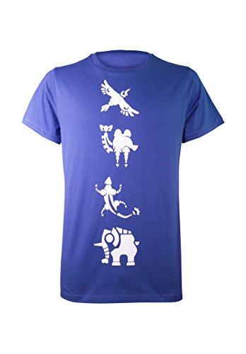 Musterbrand Zelda T-Shirt Champions Blu - blu - 4XL