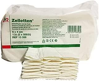Toallitas de celulosa para uñas -12 capas -100 unidades Zelletten - no dejan pelusillas- en capas - Alta calidad - Manicura y pedicura - Blucc Style