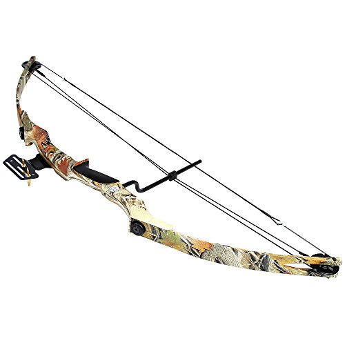 iGlow 55 lb Autumn Camouflage Camo Archery Hunting Compound Bow 175 150 80 50 40 lbs Crossbow