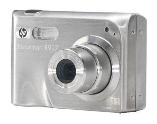 "HP Photosmart R927 and Dock - Cámara Digital (8.5 MP, SLR Kit, 1/0.0709 mm (1/1.8""), 3 x, 8 x, 7.8-22 mm) Plata"