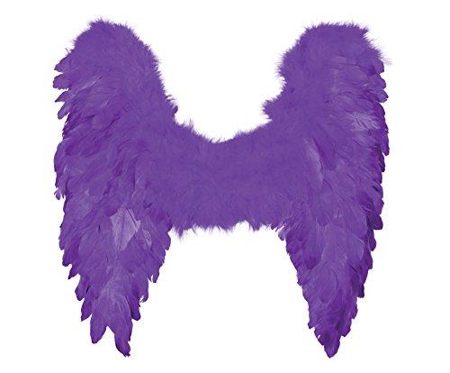 Boland - Ac0049/violet - Ailes d'ange Plumes Violet 50x50 Cm