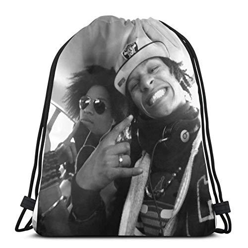 Les Twins 2 Pullover Hoodie -£¨1£ Drawstring Bag Sports Fitness Bag Travel Bag Gift Bag