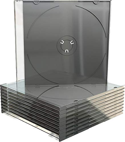 100 custodie Mediarange per CD, DVD-R slim 5,2mm