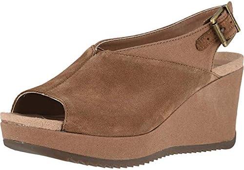 Vionic Women's Hoola Trixie Wedge - Ladies Concealed Orthotic Support Platform Sandal