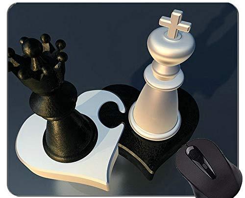 Yanteng Alfombrilla Antideslizante, Alfombrilla de ratón de la Oficina del ajedrez Alfombrillas de ratón US0130