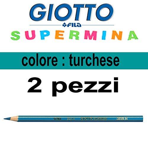 Pastello Giotto supermina turchese n.24 da 3,8 mm giotto supermina sfuso