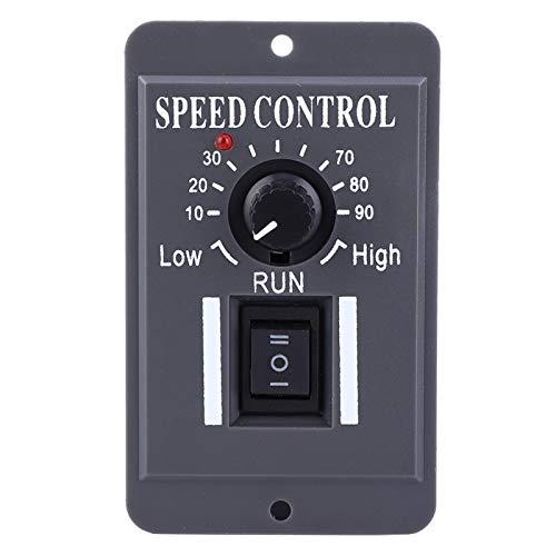 Motor, Gobernador de motor útil estable, Durable CW/CCW 6A 12V / 24V / 36V / 48V para control Tipo de panel de regulación de velocidad del motor del cepillo de CC