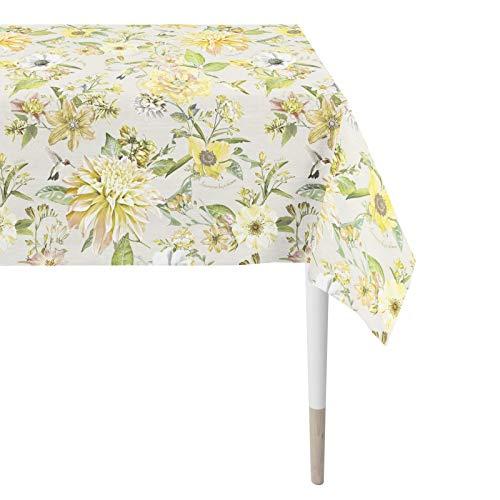 Apelt 7305 Tischdecke l Sommerblumen l Gelb Grün l 150x250cm