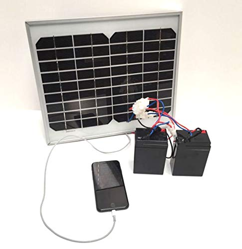 Lake Reaper Genuine Bait Boat Solar Panel Battery Charger with USB for Phone