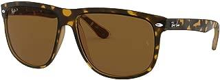 RB4147 710/57 Sunglasses Tortoise Frame / Polarized Brown Lens 60mm