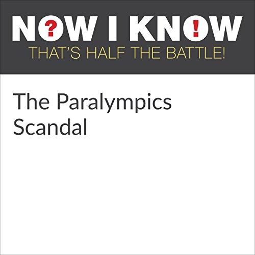 Diseño de la portada del título The Paralympics Scandal