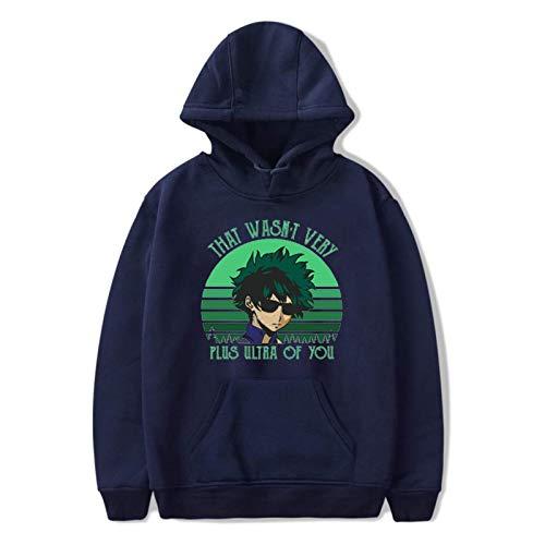 N\C Sweatshirt Men Hoodies Women Clothing Academia Boku Anime Hoodie Hip Hop Harajuku Top Hoodie