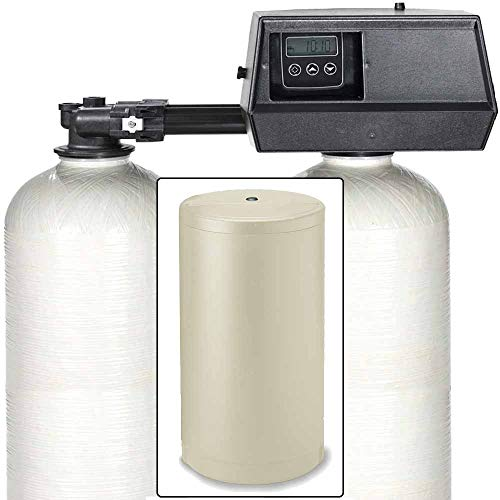 32k Digital Dual Tank Alternating IRON PRO Water Softener with Fleck 9100SXT (1')