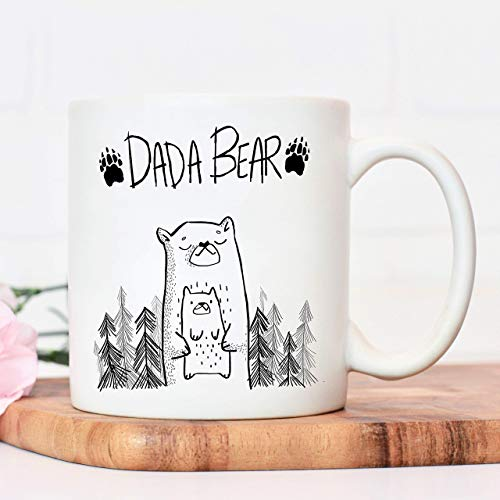 Daddy mug | Dada Bear | Fathers Day Cup presents from daughter | gifts for dads birthday | Christmas dad father or sibling gift