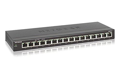 Netgear -   Gs316 Switch 16