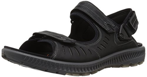 ECCO Men's Terra 2S Athletic Sandal, Black, 42 EU/8-8.5 M US