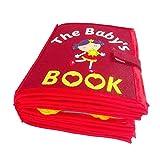 SH-Flying Libros Silenciosos Fieltro, Libro De Tela para Niños Libro De...