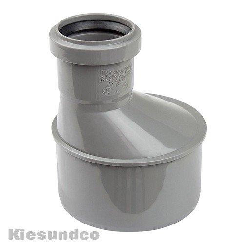 HT-Übergangsrohr DN 75/50 - Eignet sich für die Abwasserleitungen innerhalb Gebäuden - für heiße, kalte und aggressive Abwässer geeignet
