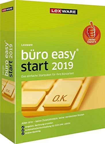 Lexware büro easy start 2019 Minibox (Jahreslizenz)|für Kleinunternehmer und Existenzgründer|Bürosoftware mit Basisfunktionen - einfach zu bedienen|Kompatibel mit Windows 7 oder aktueller