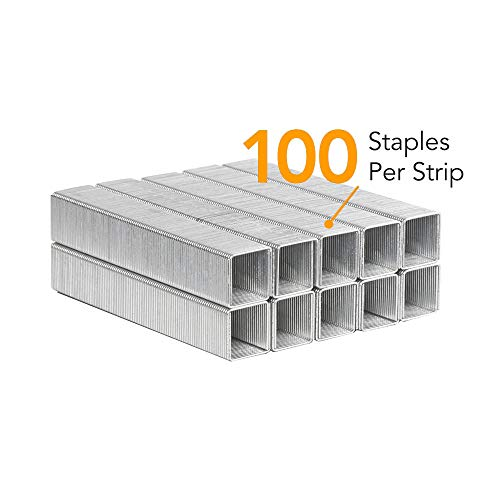 """Drita Staples, Heavy Duty, 2000 Staples, 100 Sheet Capacity, 1/2"""" Length, 23/13, Staples for Heavy Duty Staplers, Office Staples, Desk Staples, Big Staples, Paper Staple, Large Staples Photo #3"""