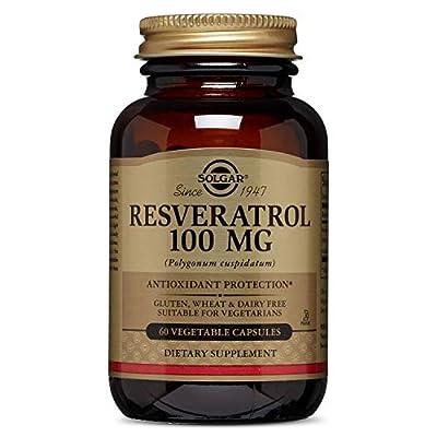 Solgar Resveratrol Vegetable Capsules - Pack of 60 by Solgar