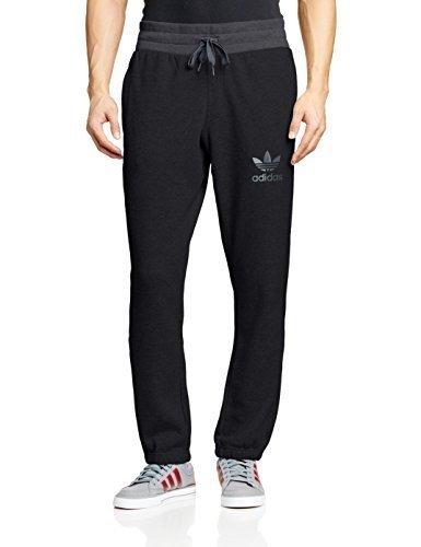 adidas Originals Mens Mens Sport Essentials Sweat Pants in Black - S
