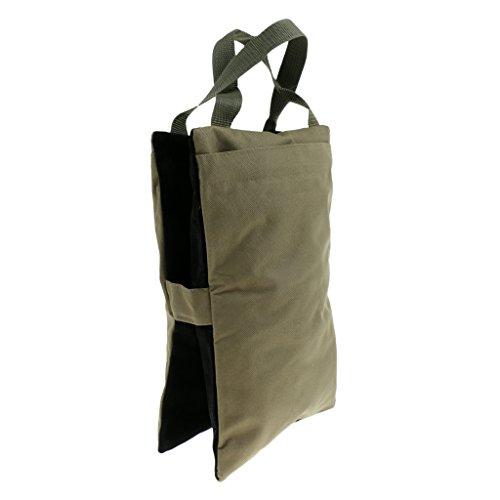 Homyl Gewicht Sandsack Ungefüllt Schwerlast Sand Tasche für Outdoor-Fotografie, Jagdschießen - Amry Grün