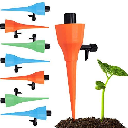 Irrigazione a Goccia, L'ultima irrigazione automatica a pressione costante, Yolistar 15Pcs Strumento di Irrigazione Automatico a Goccia, l'irrigazione Domestica Il Controllo dell'Acqua per Piante