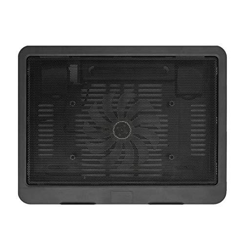 Fan La Almohadilla De Enfriamiento Para Computadora Portátil Ultra Delgada Negra Se Puede Configurar Con Un Refrigerador De Soporte De Computadora USB FANS USB Ordenadores ( Color : Black )
