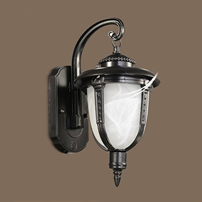 KUN PENG SHOP Auenwandleuchte Gartenleuchte Garten Retro Wandlampe Auenleuchte für den Auenbereich der Landhaus A+