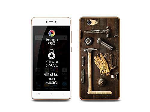etuo Handyhülle für Allview X3 Soul Lite - Hülle, Silikon, Gummi Schutzhülle Foto Case - Werkzeüge