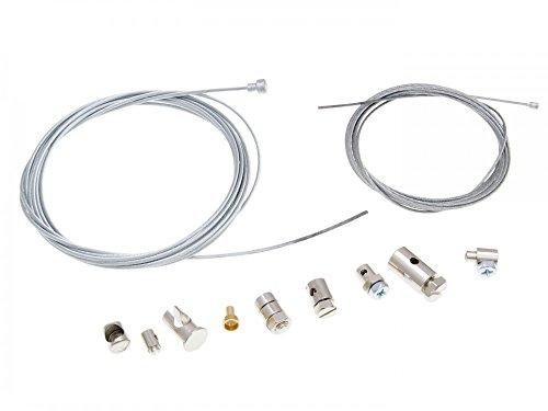 Kit universal de reparación, cable de acelerador y cable de embrague