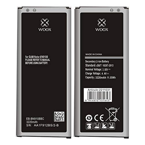 Todobarato24h Bateria Compatible con Samsung Galaxy Note 4 3220 mAh