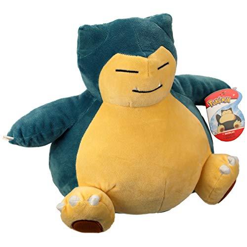 WCT - RELAXO Plüsch Wer schläft Pokemon Snorlax - 25cm