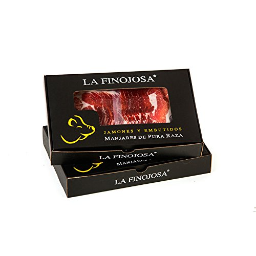 Paleta Bellota Ibérica 'La Finojosa' Loncheada y envasado al vacío. Lote 20 paquetes de 100 gramos/ud.