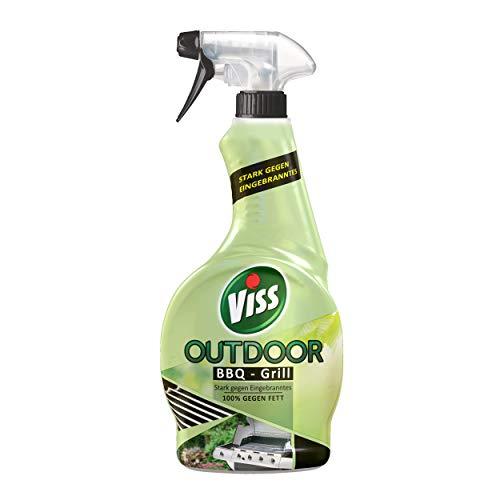 Viss Outdoor BBQ-Grill Spray (für die ideale Entfernung von Eingebranntem & Fett), (1 x 450 ml)