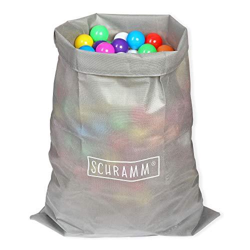 Schramm® Sac de Rangement pour 200 balles 70 x 59 cm pour Bain de balles Balles pour balles de bébé Balles en Plastique