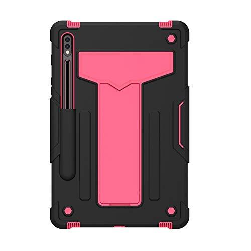RZL PAD y TAB Fundas Para Samsung Galaxy Tab S7 11 pulgadas, soporte de costura de color Tableta de silicona a prueba de choques a prueba de choques para Samsung Galaxy Tab S7 11 pulgadas 2020 T870 T8