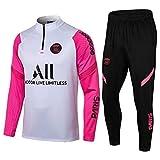 zhaojiexiaodian Uniforme de fútbol de manga larga, primavera y otoño, camiseta deportiva para adultos, traje de entrenamiento, traje de competición (Figura 4, s)