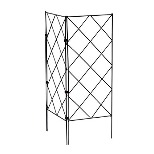 POHOVE Tomato Cage,3pcs Plant Cages Tomato Garden Cages Stakes Vegetable Trellis,Plant Stakes and Support for Vertical Climbing Plants,Vegetables, Flowers, Fruits, Vine