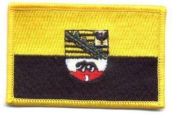 Flaggen Aufnäher Patch Sachsen - Anhalt Fahne NEU