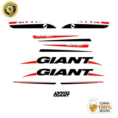 Pegatinas para Bici - Sticker Decorativo Bicicleta - Juego de Adhesivos en Vinilo para Bici Giant Anthem 3 Pegatinas Cuadro Bici: Amazon.es: Coche y moto