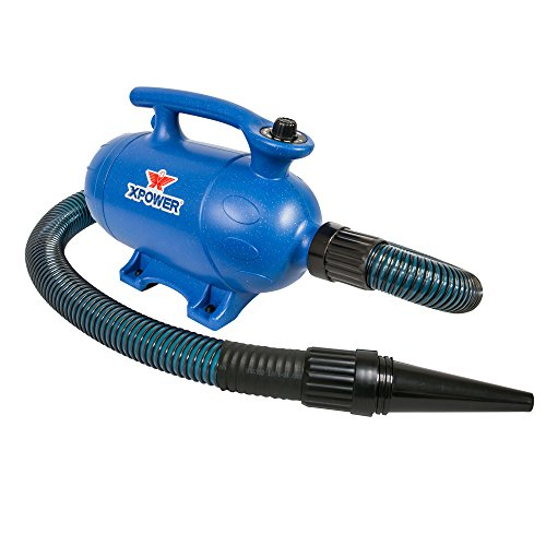 """Xpower """"B-4"""" 3 HP Variable Speed 2-in-1 Pet Dryer and Vacuum"""