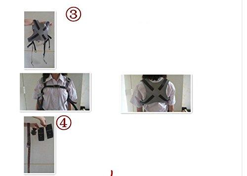 『進撃の巨人 全身 ベルトセット フリーサイズ コスプレ衣装 ベルト類 調査兵団 男女兼用 sdd009』の3枚目の画像