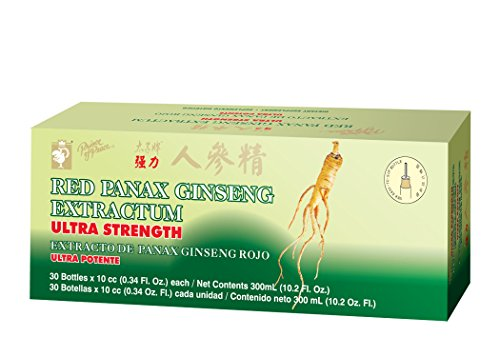 Ultra Strength Red Panax Ginseng Extract - Prince of Peace, 30 btl,...