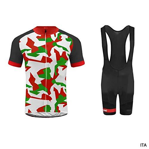 Uglyfrog Color Bandera Camuflaje Mens Ciclismo Jersey