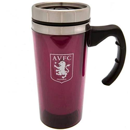 Official Aston Villa Travel Mug, Aluminium