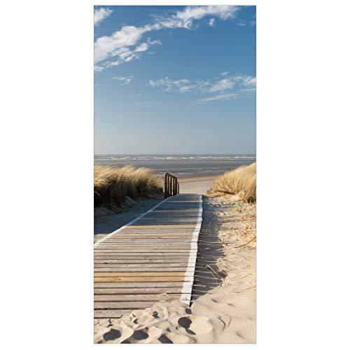 Bilderwelten Raumteiler Ostsee Strand 250x120cm inkl. transparenter Halterung