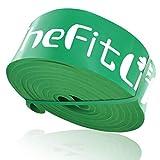 TheFitLife トレーニングチューブ 懸垂チューブ 懸垂補助 トレーニングバンド 筋トレチューブ - 天然ラテックス製 懸垂アシスト フィットネスチューブ ヨガ リハビリ ストレッチ 収納ポーチ・日本語説明書付 (グリーン)